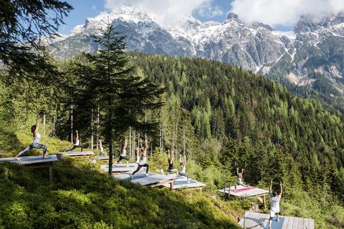 Alpen, Yoga & Fitness Retreat im Lifestyle Hotel Leogang – Reiseathleten goes mama thresl – Fitnessurlaub Österreich [20.09.20 – 24.09.20]
