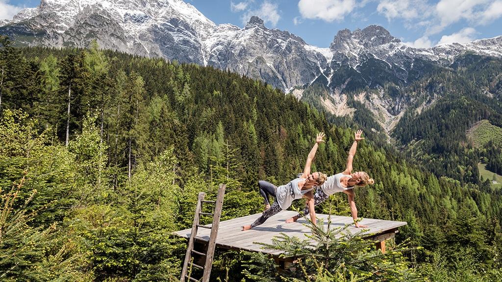 Fitness Retreat Österreich - Fitnessreisen für Reiseathleten - Fitnessurlaub Österreich mit Yogaprogramm