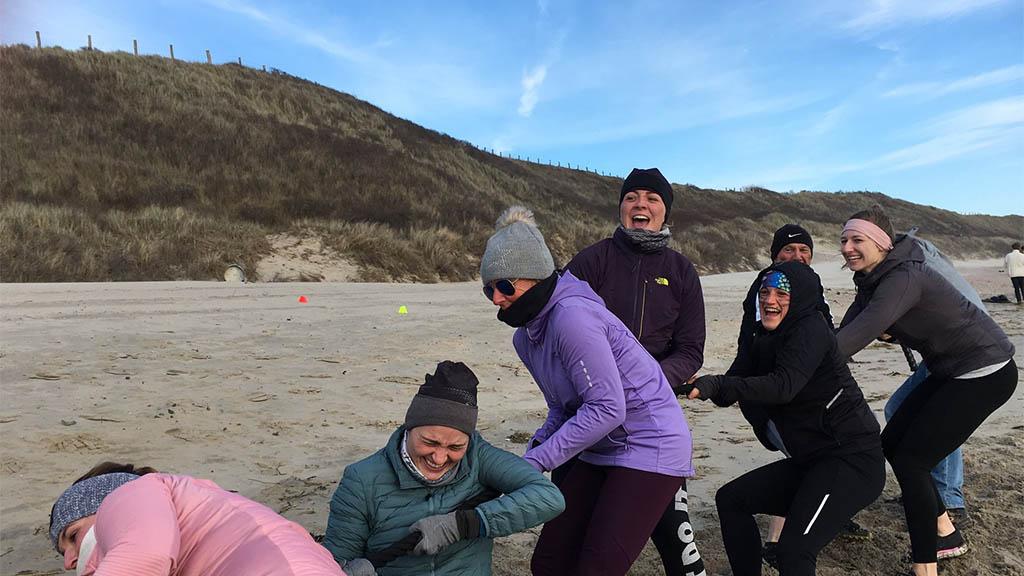 Outdoor Workout - Fitnessurlaub Holland - Fitnessreisen mit mimind und Reiseathleten - Fitnessreisen für Reiseathleten
