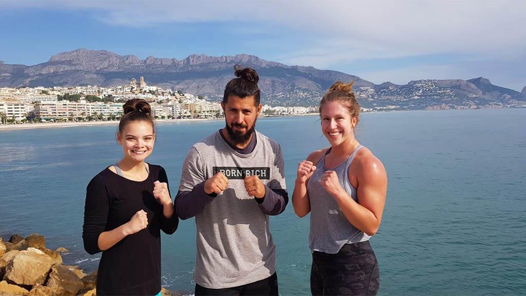 Fitnessurlaub Spanien - Box Camp von Punchcamp Spain - Fitnessreisen für Reiseathleten