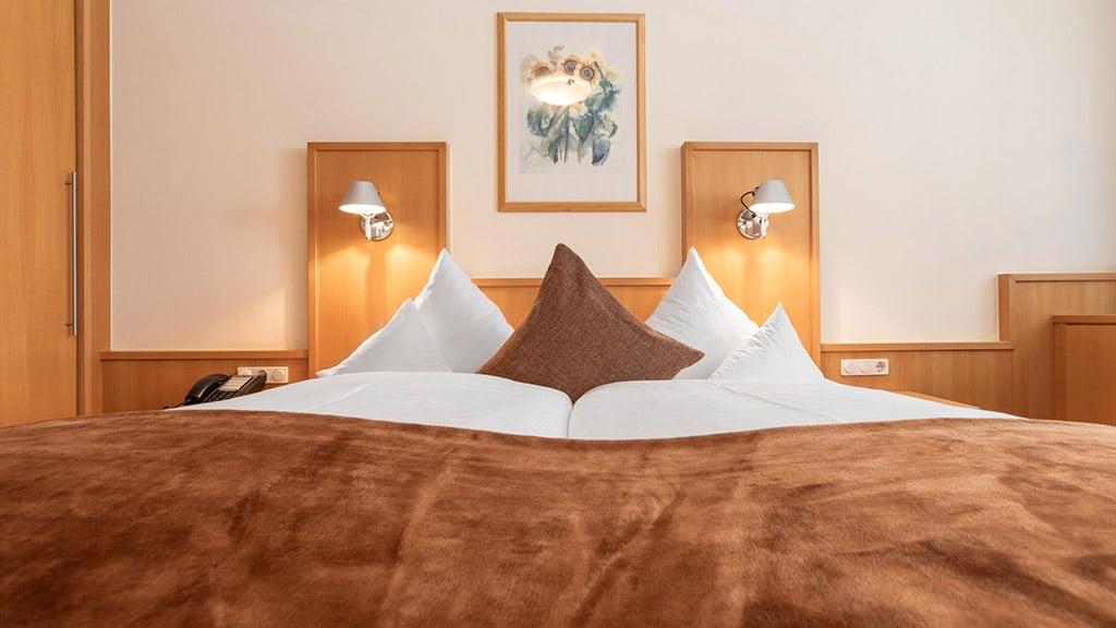 Fitnessurlaub in Österreich - Ferienzimmer im Hotel 4 Jahreszeiten Pitztal - Fitnessreisen für Reiseathleten