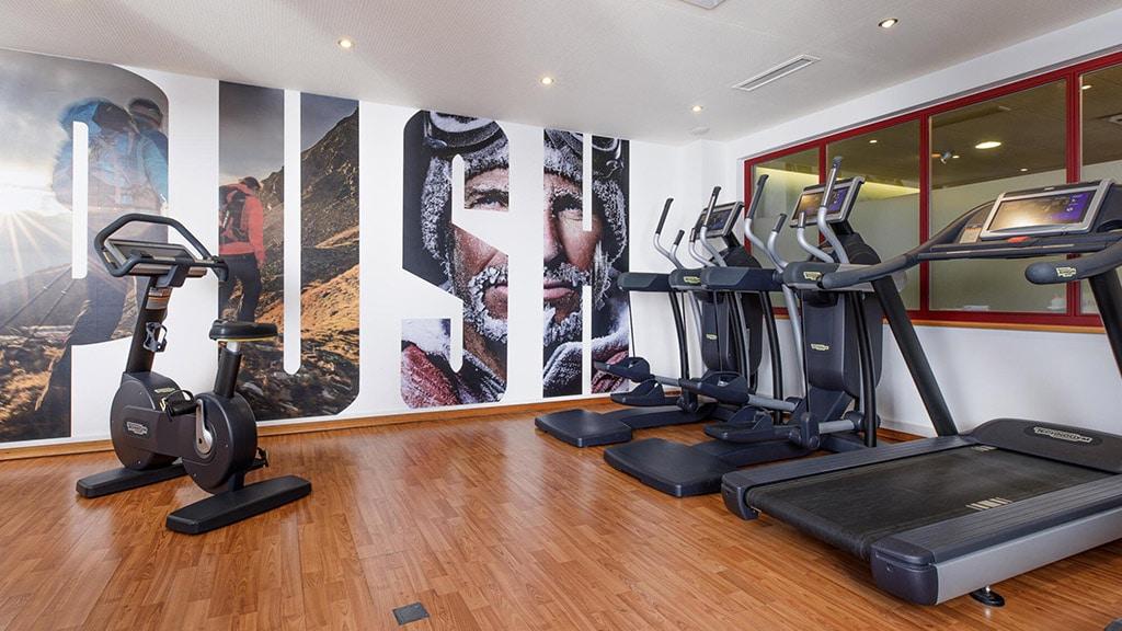 Fitnessurlaub in Österreich - Fitnessraum im Hotel 4 Jahreszeiten Pitztal - Fitnessreisen für Reiseathleten