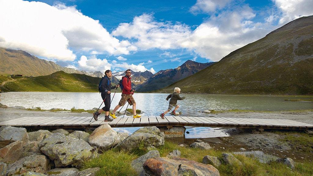 Fitnessurlaub in Österreich - Nordic Walking Hotel 4 Jahreszeiten Pitztal - Fitnessreisen für Reiseathleten