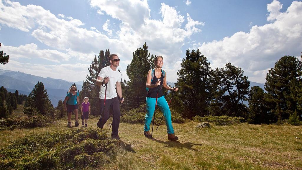 Fitnessurlaub in Österreich - Wandern Hotel 4 Jahreszeiten Pitztal - Fitnessreisen für Reiseathleten