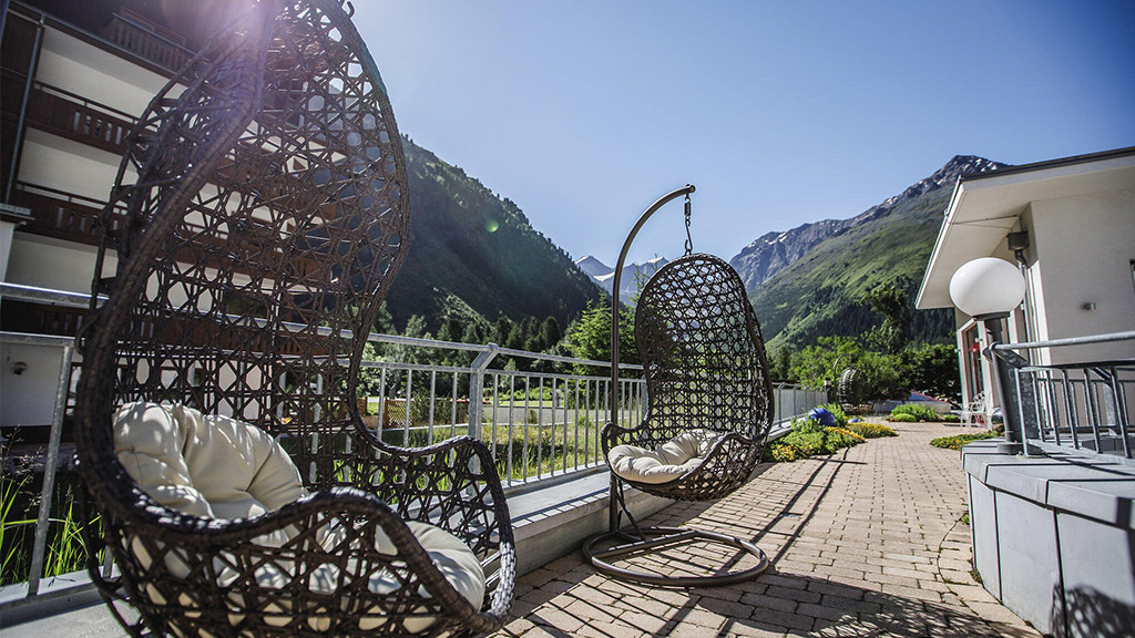 Fitnessurlaub in Österreich - Wellnesserholung im Hotel 4 Jahreszeiten Pitztal - Fitnessreisen für Reiseathleten