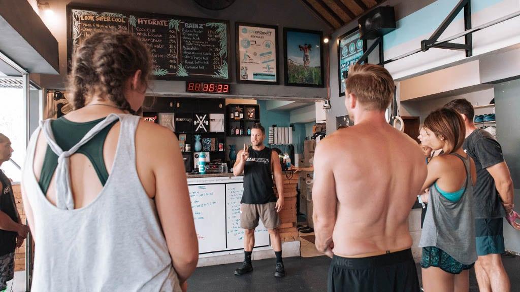 Fitnessurlaub in Bali - S2S CrossFit Bali - Fitnessreisen für Reiseathleten
