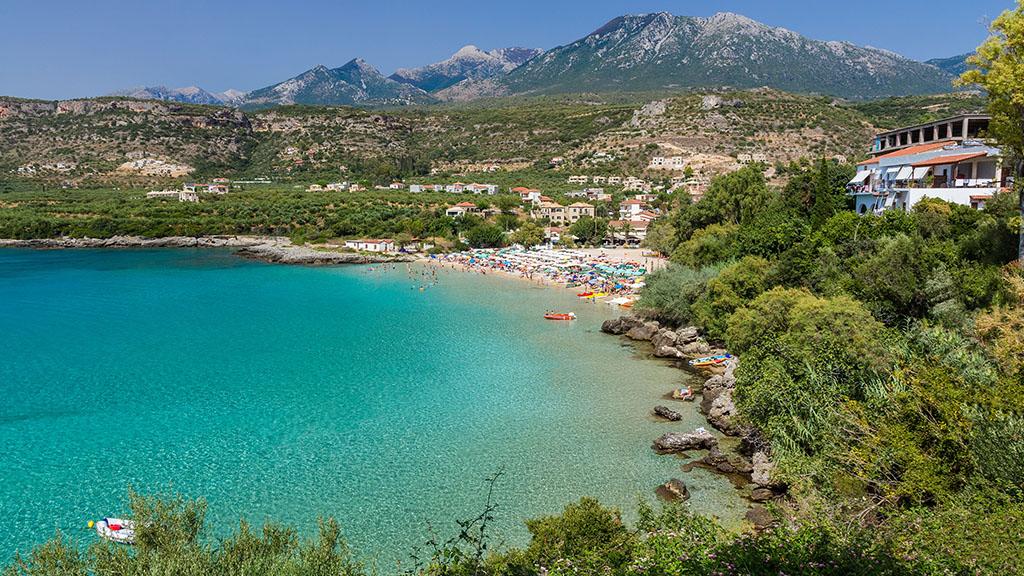 Fitnessurlaub in Griechenland - Fitnessreisen für Reiseathleten - Kalogria Strand