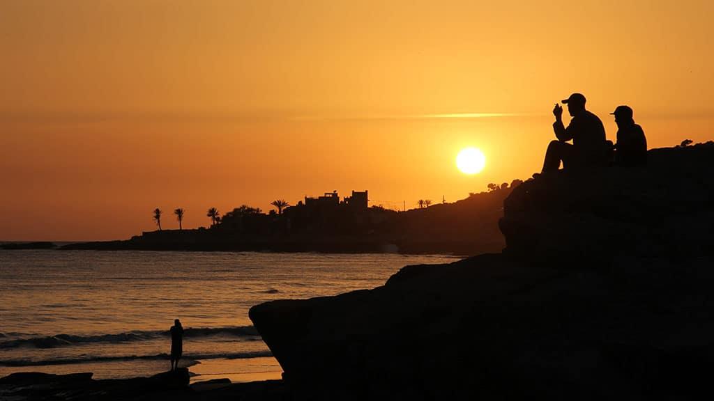 Fitnessurlaub in Marokko - Fitnessreisen für Reiseathleten Marokko - Sonnenuntergang