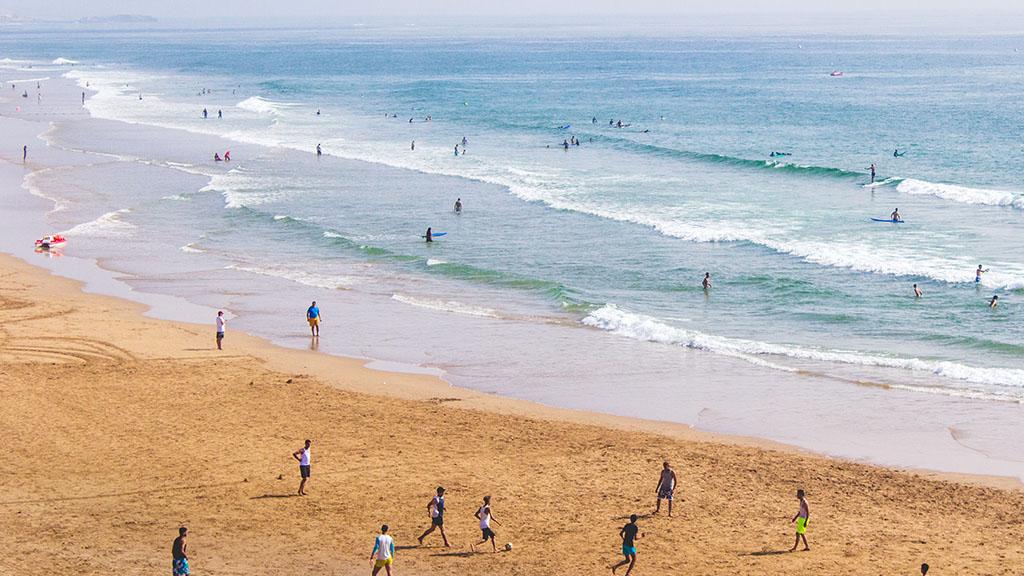 Fitnessurlaub in Marokko - Fitnessreisen für Reiseathleten Marokko - Strand Sport