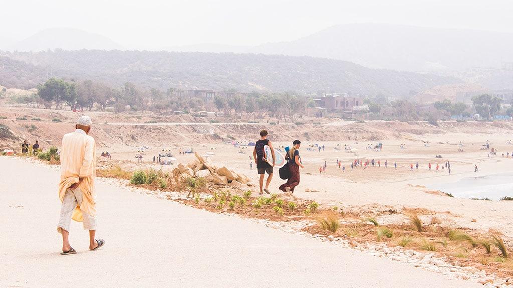 Fitnessurlaub in Marokko - Fitnessreisen für Reiseathleten Marokko - Strand