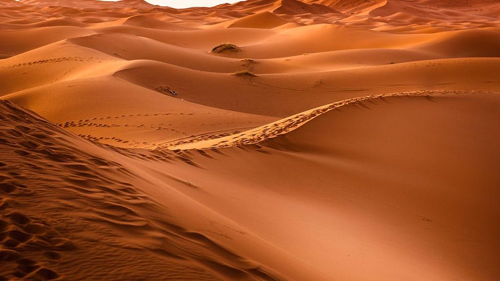 Fitnessurlaub in Marokko - Fitnessreisen für Reiseathleten Marokko - Wüstensicht