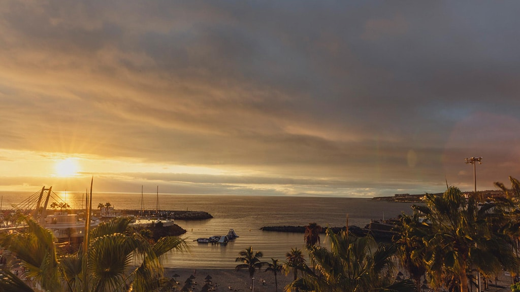 Flamingo Beach Mate - Umgebung Hotel - Fitnessurlaub Teneriffa als Reiseathlet
