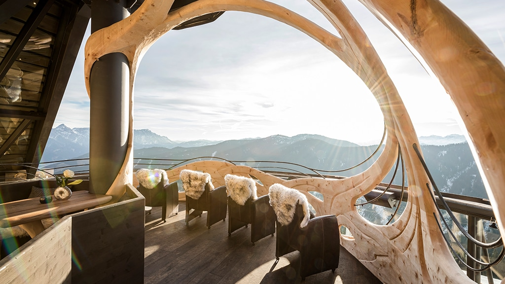 Panorama Lounge - Fitnessurlaub in Österreich - Fitnessreisen für Reiseathleten