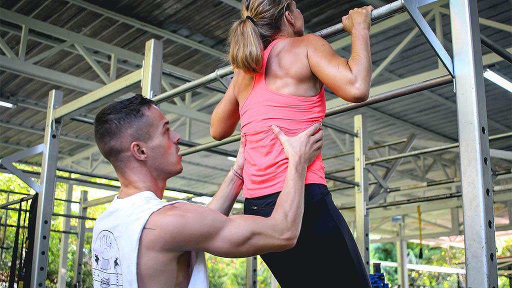 Personal Training - Fitnessreise Koh Samui - Ulrike im FitKoh Koh Samui - Fitnessferien Thailand für Reiseathleten
