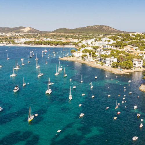 Bucht von Santa Ponsa, Mallorca - Fitnessurlaub auf Mallorca - Fitnessurlaub für Reiseathleten