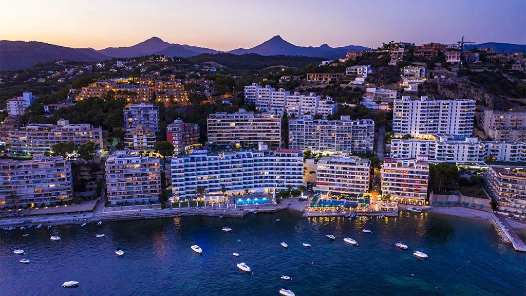 Blick auf Santa Ponsa, Mallorca - Genieße die wunderschöne Stadt mit mallorquinischem Flair