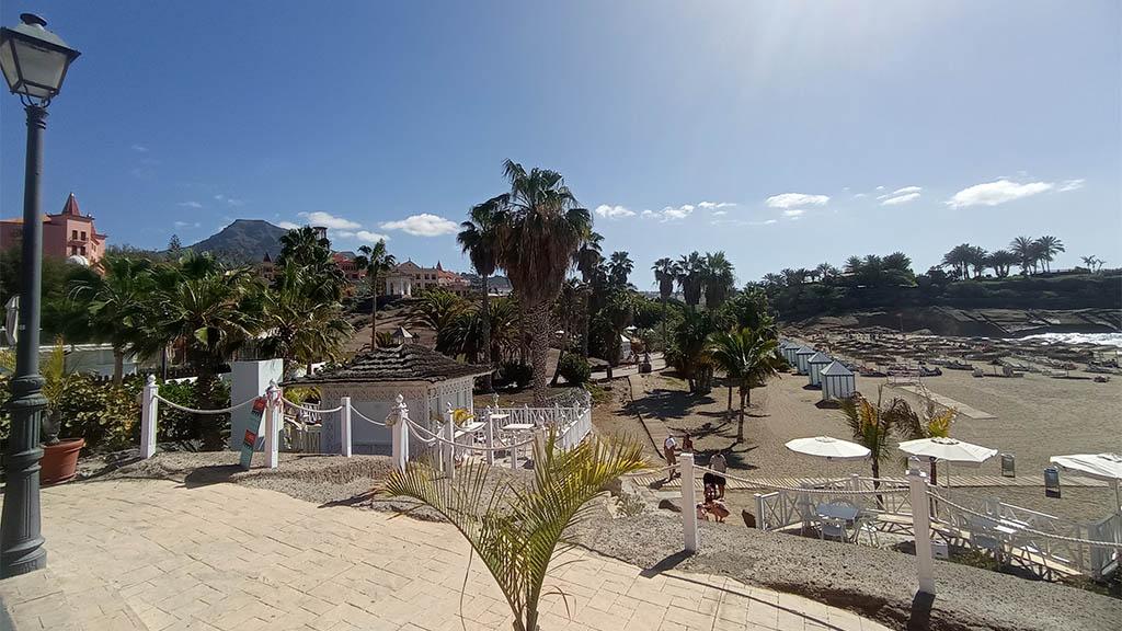 Strandpromenade und Playa del Duque - Fitnessurlaub auf Teneriffa - Fitnessreisen für Reiseathleten