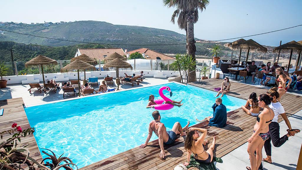 Surfcamp Ericeira, Portugal - Surfen, Fitness und Yoga in Portugal - Surfcamp in Ericeira, Fitnessreise Portugal - Fitnessurlaub für Reiseathleten