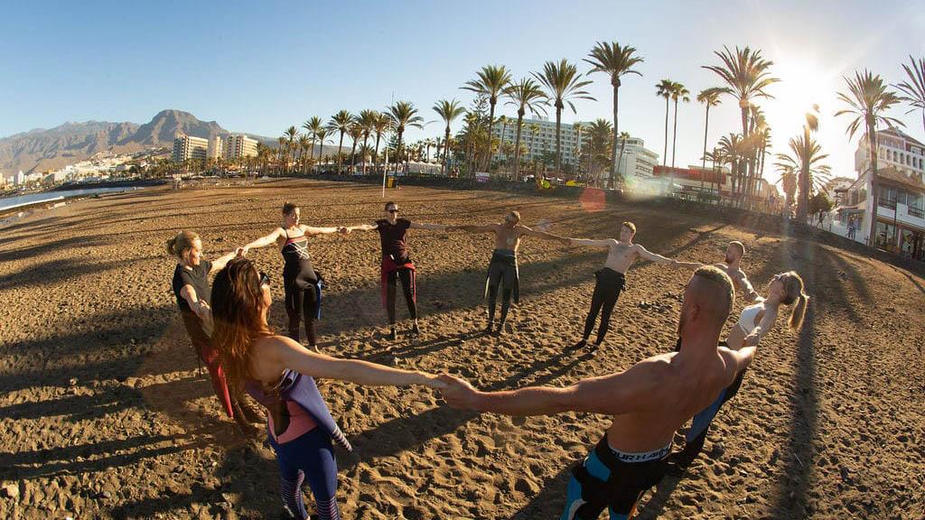Surfen auf Teneriffa - Fitnessurlaub Kanaren - Fitnessreisen für Reiseathleten