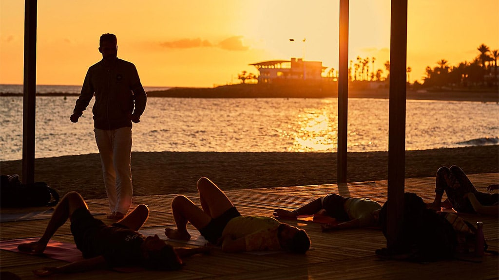 Yoga, Meditation, Qi Gong, Thai Massage auf Teneriffa -Marco Bartolomeo- Fitnessreise Spanien - Fitnessurlaub für Reiseathleten